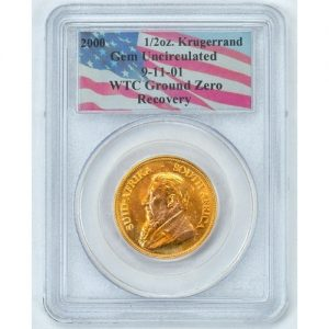 World trade center recovery Gold krugerrand